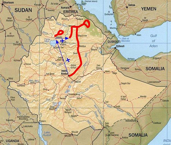 Etiopie Treking V Simienskych Horach A Danakil Treking Geos